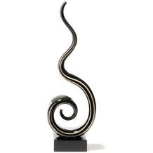 Leonardo Skulptur Twist 35 cm beige/grau