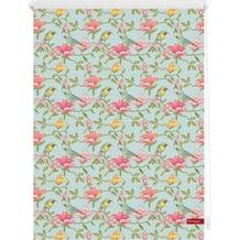 Lichtblick Rollo Klemmfix, ohne Bohren, blickdicht, Birds - Grün Pink Breite: 100 cm