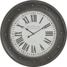Light & Living Uhr HOLBORNSTREET grau holz