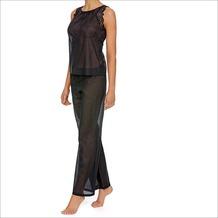 LingaDore LEONE, Top & Long Pants, schwarz M