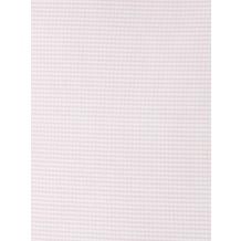 Livingston Batist-Bettbezug + Kissenbezug mit Längsnaht und Knopfverschluss, rosa-weiß kariert 200x200cm + 80x80cm