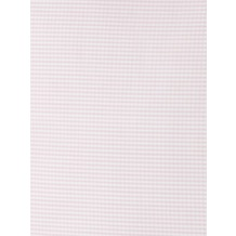 Livingston Batist-Kopfkissen mit knopfverschluss, rosa-weiß kariert 40x60cm