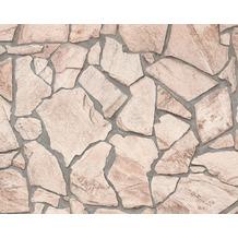 "Livingwalls selbstklebendes Panel ""Pop.up Panel 3D"", beige, braun, creme 2,50 m x 0,52 m"