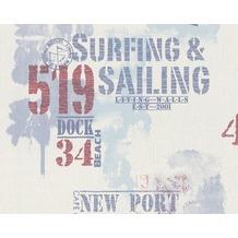 tapeten farbe lacke aus der serie surfing sailing. Black Bedroom Furniture Sets. Home Design Ideas