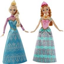 Mattel Frozen D.Eiskönigin, Königliche Schwester