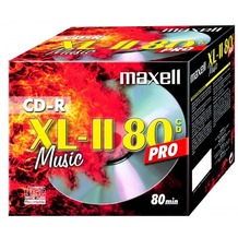 maxell CD-R 80 Maxell Audio Music PRO 1er Jewelcase