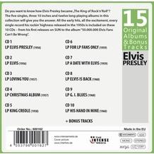 Membran Media Elvis Presley - 15 Original Albums, CD