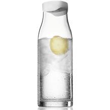 menu Wasserkaraffe mit Deckel weiß 1L