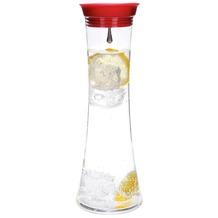 menu Wasserkaraffe WELLNESS 0.8L rot