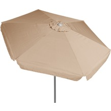 merxx Schirm, Alu, ca. Ø 180 cm beige