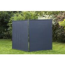 merxx Sichtschutz Textil, schmal, 150 x 190 cm anthrazit