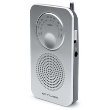 muse M-01RS silber Pocketradio