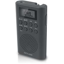 muse M-02R schwarz Pocketradio