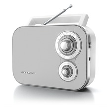muse M-051RW weiss Kofferradio U-M, AUX