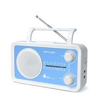 muse M-05BL blau Kofferradio U-M-L-K