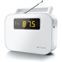 muse M-081RW weiss Kofferradio PLL U-M