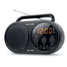 muse M-088R Kofferradio U-M Uhr USB AUX-IN