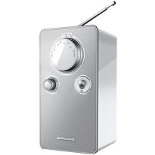 muse M-099BTW weiß UKW-Radio, BT, AUX-IN