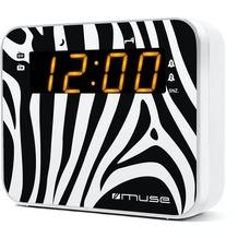 muse M-165ZW Uhrenradio PLL UKW/MW Dualalarm