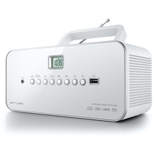 muse M-28RDW weiss CD-Radio MP3 PLL USB