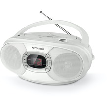 muse MD-201RDW weiss CD-Radio CD/CD-R/RW