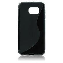 my-eXtra Back Case S für Samsung Galaxy S7 Edge - schwarz
