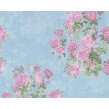 naf naf mustertapete tapete floral blau gr n rot. Black Bedroom Furniture Sets. Home Design Ideas