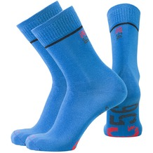 NC56 men basic socks 2er strong blue, 39-42