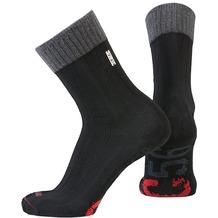 NC56 socks rib black, 39-42