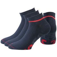 NC56 unisex basic sneaker socks 3er total, 35-38