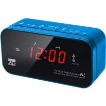 new one CR-120BL blau Uhrenradio PLL FM Tuner