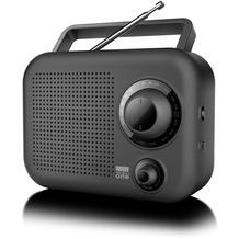 new one R 210 schwarz Kofferradio FM/MW