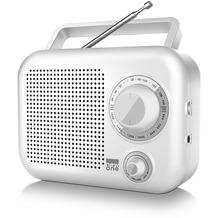 new one R 210 W weiss Kofferradio FM/MW