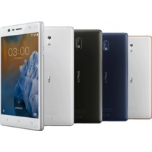 Nokia 3 - tempered blue