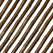 NOOR Bambusrohr Teak Ø 35/40 mm Länge 180 cm
