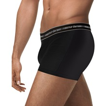 nur der Boxer 3D-Flex Classic Doppelpack schwarz 5 = M