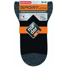"""nur der Herren """"Sport Ultra Socke""""  schwarz 47-48"""
