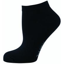 """nur die Damen """" 3in1 Effekt Sneaker Socke""""  schwarz 35-38"""