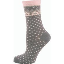 """nur die Damen """"Trend Socke""""-340 grau 35-38"""