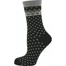 """nur die Damen """"Trend Socke""""-940 schwarz 35-38"""