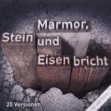 One Song Ed.Marmor,Stein & E, CD