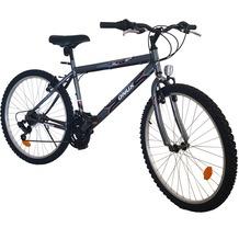 ONUX Mountainbike 26 Zoll / 46 cm Rahmen / 18 Gänge Shimano / Alu-V-Brake / Herren / Grau