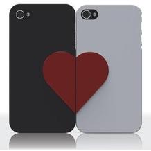 Ozaki iCoat Lover Forever für iPhone 4/4S, schwarz/weiß