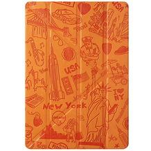 Ozaki O!Coat Travel Smart Case für Apple iPad mini 4, New York orange