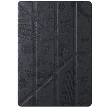 Ozaki O!Coat Travel Smart Case für Apple iPad mini 4, Rom schwarz