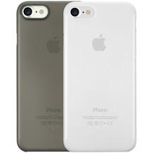 Ozaki O!Coat 0.3 Jelly Case 2 in 1 Set - Apple iPhone 7 - schwarz & transparent