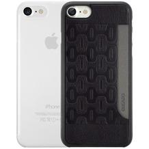 Ozaki O!Coat 0.3 Jelly + Pocket Case - Apple iPhone 7 - schwarz & transparent