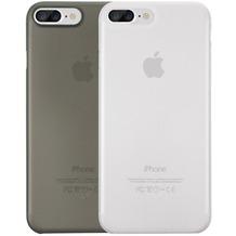 Ozaki O!Coat 0.4 Jelly Case 2 in 1 Set - Apple iPhone 7 Plus - schwarz & transparent