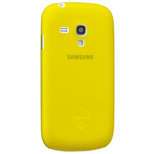 Ozaki O!Coat 0.4 Jelly für Samsung Galaxy S3 mini, gelb