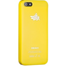 Ozaki O!Coat Fruit case für iPhone 5/5S/SE, bananengelb